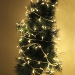 10m 80 LED Warm White Light Battery String Decoration Light for Christmas Party