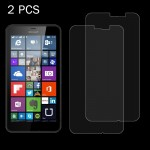 2PCS for Microsoft Lumia 640 XL 0.26mm 9H+ Surface Hardness 2.5D Explosion-proof Tempered Glass Film