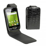 High Quality Leather Case for Samsung S5570 / Samsung Dart SGH-T499 (T-Mobile)