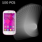 100 PCS for Alcatel One Touch Pop C3 0.26mm 9H+ Surface Hardness 2.5D Explosion-proof Tempered Glass Film