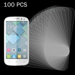100 PCS for Alcatel One Touch Pop C5 0.26mm 9H+ Surface Hardness 2.5D Explosion-proof Tempered Glass Film
