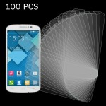 100 PCS for Alcatel One Touch Pop C7 0.26mm 9H+ Surface Hardness 2.5D Explosion-proof Tempered Glass Film