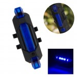 AQY-093 Detachable USB Rechargeable LED Bike Taillight(Blue)