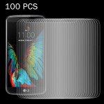 100 PCS for LG K10 0.26mm 9H Surface Hardness 2.5D Explosion-proof Tempered Glass Screen Film