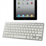 Clavier QWERTY pour iPad 4 / 3 / 2 / Bluetooth 3.0 ultra-fin - Wewoo