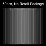 50 PCS Huawei P9 0.26mm 9H Surface Hardness 2.5D Explosion-proof Tempered Glass Film, No Retail Package