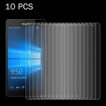 10 PCS for MicroSoft Lumia 950 XL 0.26mm 9H Surface Hardness 2.5D Explosion-proof Tempered Glass Screen Film