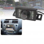 LED Sensor Car Rear View Camera, Support Color Lens/120 Degrees Viewable / Waterproof & Night Sensor function (E350)(Black)