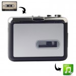 Convertisseur de cassette audio USB Tape to MP3 Converter Capturer Lecteur Musique - wewoo.fr