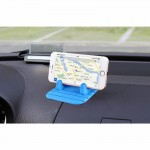 XIAOLIN XL-4006 Car Shockproof Anti-slip Mount Holder For Most Tablet And Phone(Blue)