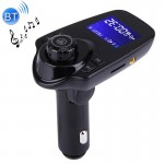 T11 Bluetooth FM Transmitter Car MP3 Player with LED Display, Support Double USB Charge & Handsfree & TF Card & U Disk Music Pla