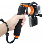 TMC HR391 Shutter Trigger Floating Hand Grip / Diving Surfing Buoyancy Stick with Adjustable Anti-lost Hand Strap for GoPro HERO