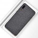 Shockproof Cloth Texture PC+ TPU Protective Case for Meizu 16s (Grey)