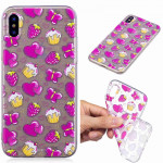 Painted TPU Protective Case For Huawei P30 Pro(Strawberry Cake Pattern)