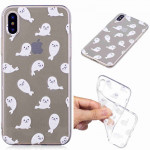 Painted TPU Protective Case For Huawei P30 Pro(White Sea Lion Pattern)