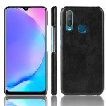 Shockproof Litchi Texture PC + PU Case For vivo Y17 / Y3(Black)