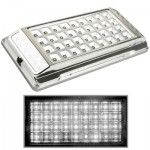 White Interior 36 LED Roof Light for Vehicle (DC 12V)(Silver)
