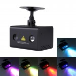 15W Fantastic and Romantic Colorful Water Wave LED Laser Light Star Light Lamp Family Decoration Light KTV Disco Pub Party Atmos