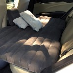 Car Travel Inflatable Mattress Air Bed Camping Universal SUV Back Seat Couch With Protection Air Cushion(Grey)