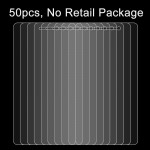 50 PCS for Lenovo K6 Note 0.26mm 9H Surface Hardness 2.5D Explosion-proof Tempered Glass Screen Film, No Retail Package