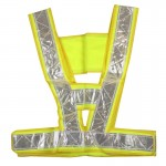 Reflective Fluorescent Vest Safty Cloth Driving School Construction Traffic Safty Warning Working Cloth