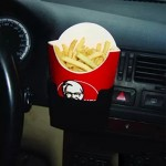 SHUNWEI SD-1019 Universal Console Car French Fry Drink Can Plastic Stand Holder for MP3 Phone Cigarette and Other Small Items(Bl