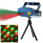 2-color Multifunction Disco DJ Club Stage Light with Holder, Support Sound Active Function (XY-B1)(Blue)