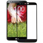 Front Screen Outer Glass for LG G2 D800 / D801 / D802 / D803 / D805(Black)