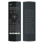 mx3 2 in 1 6-axis Air Mouse 2.4G Wireless Backlight Keyboard + Somatosensory Remote Control for Android TV Box Player & PC & Tab