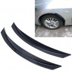 2 PCS YI-238 Car Auto Rubber Fender Guard Protection Strip Scratch Protector Sticker