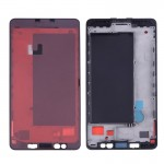 iPartsBuy for Microsoft Lumia 950 Front Housing LCD Frame Bezel Plate(Black)