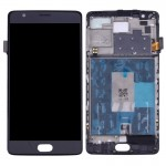 iPartsBuy OnePlus 3 / A3003 LCD Screen + Touch Screen Digitizer Assembly with Frame(Black)