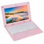 TDD-10.1 Netbook PC, 1GB+8GB, 10.1 inch Android 5.1 ATM7059 Quad Core 1.6GHz, BT, WiFi, HDMI, SD, RJ45(Pink)