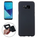 For Samsung Galaxy S8 Frosted Soft TPU Protective Case, Small Quantity Recommended Before Samsung Galaxy S8 Launching(Black)