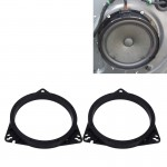 2 PCS Car Auto ABS Loudspeaker Base Protection Cover Holder Mat for Nissan and Toyota