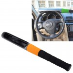 Baseball Bat Style Universal Auto Car Truck Security Defense Anti-theft Car Steering Wheel Lock With Keys(Random Color Delivery)