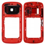 iPartsBuy for Nokia 808 PureView Middle Frame Bezel(Red)
