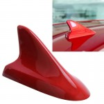 Antenne voiture A-886 Car Auto Shark Fin Dôme Décoration Honda Buick Nissan Hyundai Toyota Volkswagen Mazda Rouge - wewoo.fr