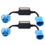2 PCS 9004/9007 Car Auto LED Headlight Canbus Warning Error-free Decoder Adapter for DC 9-36V/20W-40W