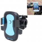 360 Degree Rotation Bicycle Phone Holder for iPhone 6 / iPhone 5 & 5C & 5S / iPhone 4 & 4S, Clip Size: 45mm-72mm(Blue)
