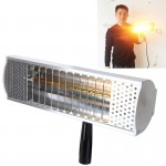 1000W Portable Metal Case Handheld Heat Light Infrared Dryer, Cable Length: 2m EU Plug