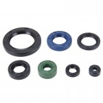 7 PCS Motorcycle Rubber Engine Oil Seal Kit for CBT-125