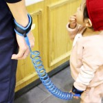 Kids Safety Harness Child Leash Anti Lost Wrist Link Traction Rope Anti Lost Bracelet, Length: 2.5m (Blue)