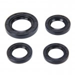 4 PCS Motorcycle Rubber Engine Oil Seal Kit for GY6125