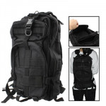 Military Nylon Oxford Waterproof 3P Tactical Backpack Bag with Adjustable Strap