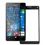 iPartsBuy for Microsoft Lumia 950 XL Original Front Screen Outer Glass Lens with Frame(Black)