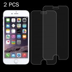 2 PCS For iPhone 7 0.26mm 9H Surface Hardness 2.5D Explosion-proof Tempered Glass Non-full Screen Film