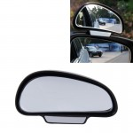 3R-092 Car Blind Spot Rear View Wide Angle Ajustable Mirror(Black)