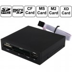 All in 1 Internal XD /SD /MMC /T-Flash /MS PRO Duo /CF /M2 Memory Card, USB 2.0 Embedded Card Reader