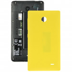 For Nokia X Original Plastic Battery Back Cover + Side Button(Yellow)
